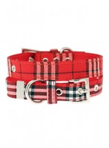 Urban Pup Red Tartan Collar