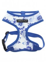 Urban Pup Blue Floral Bouquet Harness