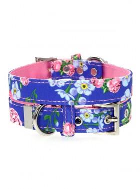 Urban Pup Blue Floral Burst Collar