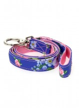 Urban Pup Floral Burst Blue Lead