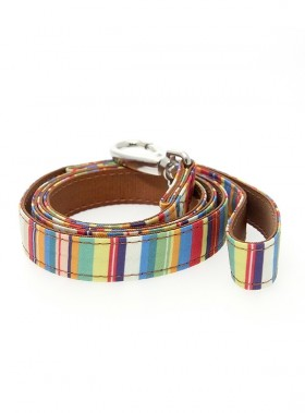 Urban Pup Henley Striped Lead