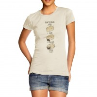Pug Loaf Ladies T-Shirt (Available in 4 colours)