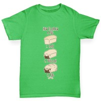 Boys Pug Loaf T-Shirt (Available in Four colours)