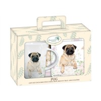 Pug Tea Time Gift Set