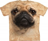 Child's Zoom Pug Print T-Shirt