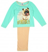 Mel The Pug Secret Life Of Pets Girls Pjs
