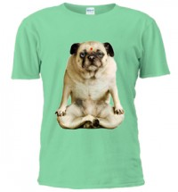 Pug Buddha Compose Unisex T-Shirt (Available in 3 colours)