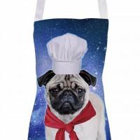 Chef Pug Unisex Apron