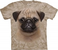Child's  Pug Face Print T-Shirt