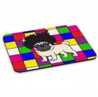 Disco Pug Mouse Mat