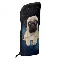 Galaxy Pug Pencil Case