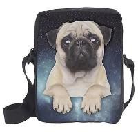 Galaxy Pug Shoulder Bag