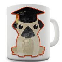 Graduation Pug Mug