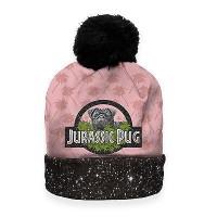 Jurassic Pug Unisex Beanie Hat