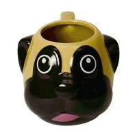Pug Shaped Mug Head