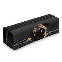 Pug Pencil Case/ Makeup Bag