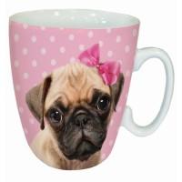 Pug Puppy Pink Mug