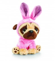 Pug Pink Soft Toy