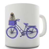Pug On A Bike Mug