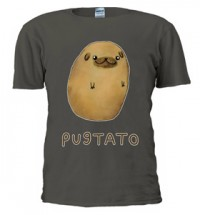 Pug Potato Unisex T-Shirts (Available in 3 colours)