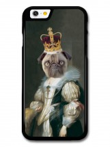 Queen Pug Phone Cover iPhones & Samsung Galaxy