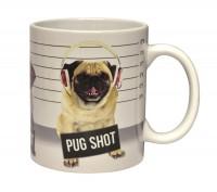 Pug Mug Shot Mug