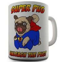 Superhero Pug Mug