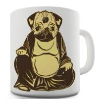 Buddha Pug Mug