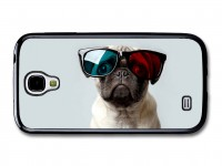 Pug 3D Glasses Samsung 4 Phone Cover