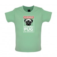 Babies Guard Pug T-Shirt (Available in 6 colours)