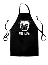 Pug Life Unisex Apron (Available in 8 colours)