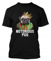 The Notorious Pug Unisex Biggie T-Shirt