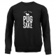 BLACK FOR PUGS SAKE SWEATER