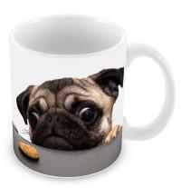 Naughty Pug Mug