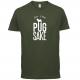 FOR PUG SAKE ARMY GREEN TEE