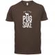 FOR PUG SAKE BROWN TEE