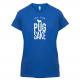 FOR PUG SAKE LADIES BLUE TEE