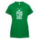 FOR PUG SAKE LADIES GREEN TEE