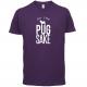 FOR PUG SAKE PURPLE TEE