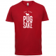 FOR PUG SAKE RED TEE