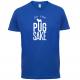 FOR PUGS SAKE BLUE TEE