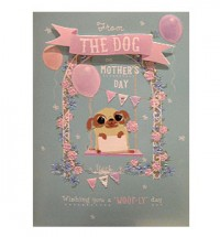 From The Dog Pug Mothers Day Card