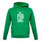 GREEN PUG HOODIE