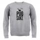 GREY FOR PUG SAKE SWEATER