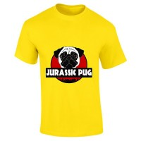 Kids Jurassic Pug T-Shirt (Available in 9 colours)
