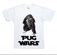 Kids Pug Wars T-Shirt