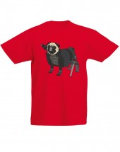 Child's Game Of Thrones Pug T-Shirt (Available in 5 colours)