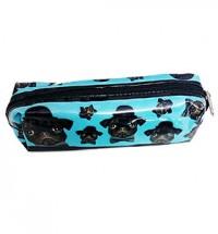 Black Pug Pencil Case