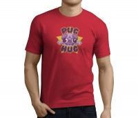 Mens Hug A Pug T-Shirt (Available in 5 colours)