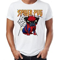 Mens Spiderpug T-Shirt